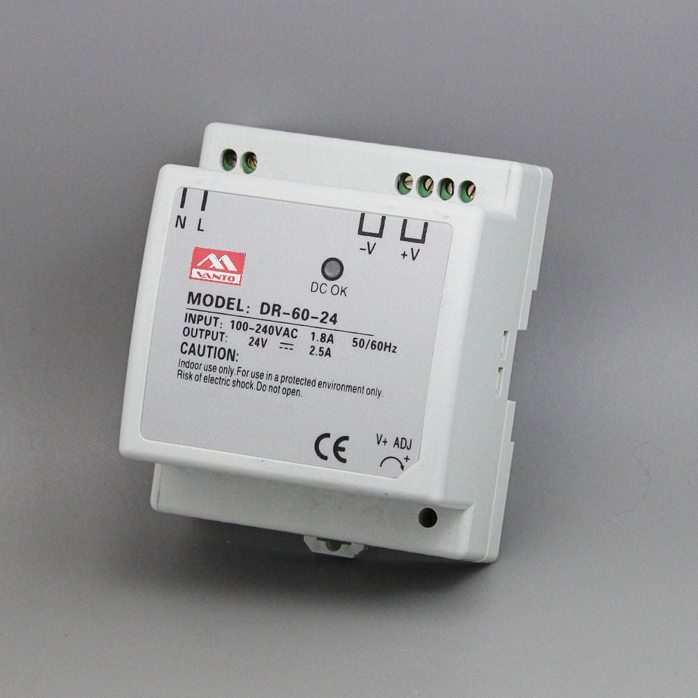 DR-60W Din Rail Power Supply