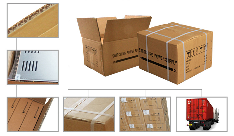 400W AC to DC CCTV Switching Power Supply Packing Show